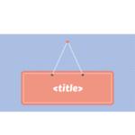 come scrivere title tag