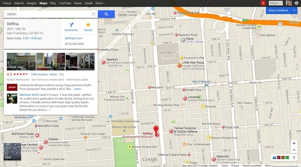 usare Google mappe : recensioni-facili-da-visionare