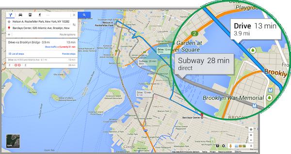 Promozione SIito Web : informazioni traffico-in-tempo-reale-google-map