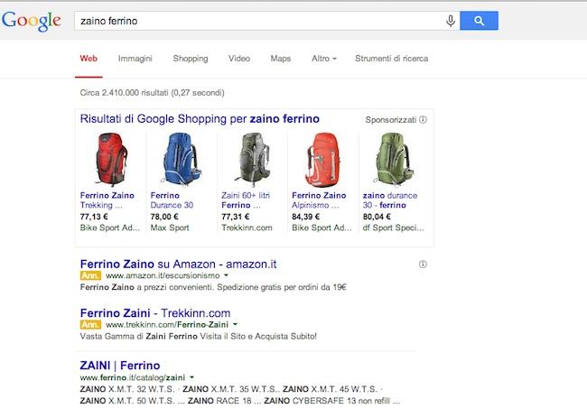 Aprire un negozio online annunci google shopping