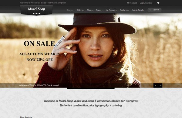 Meari-tema-ecommerce-wordpress