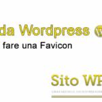 Creare una Favicon - Guida Wordpress