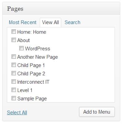 menu-wordpress-editor