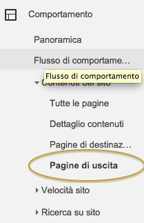 pagine-uscita-google-analytics