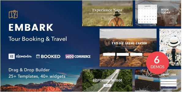 Embark tema wordpress agenzia viaggi