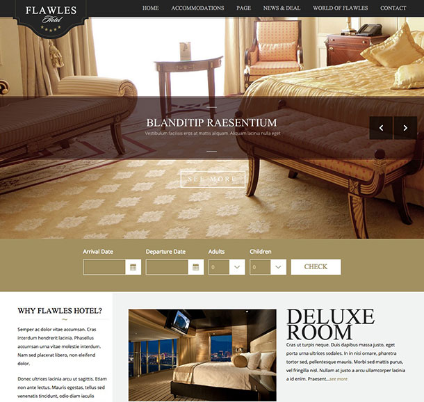 Temi-Wordpress-Flawleshotel