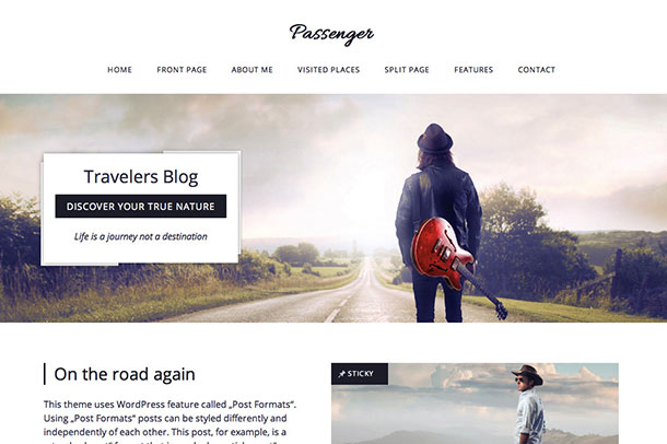 Temi-Wordpress-Passenger