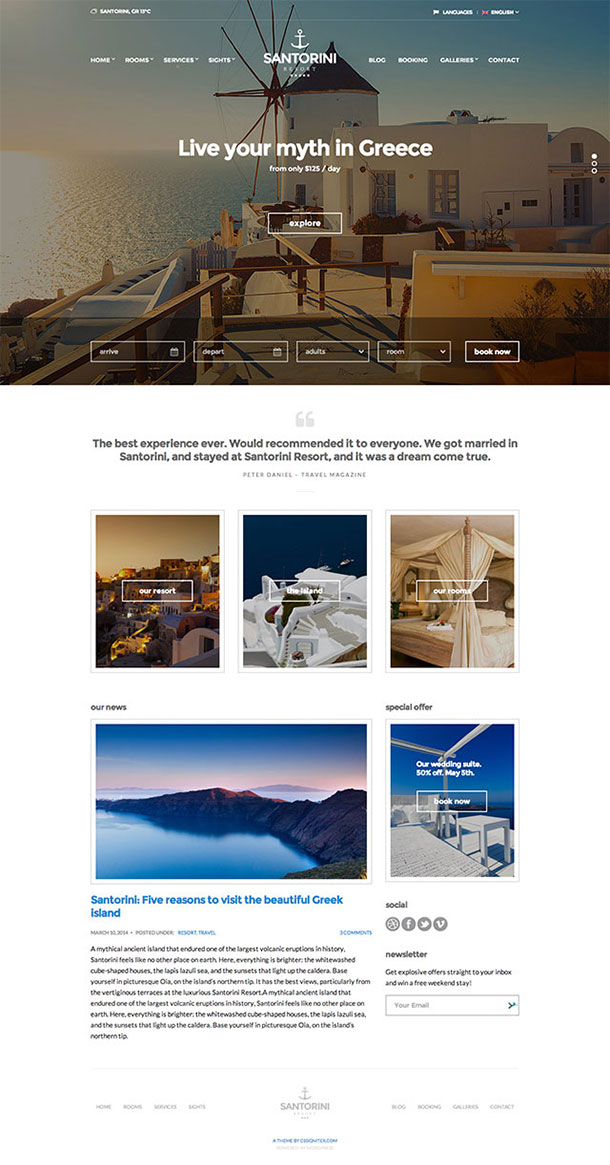 Temi-Wordpress-Santorini