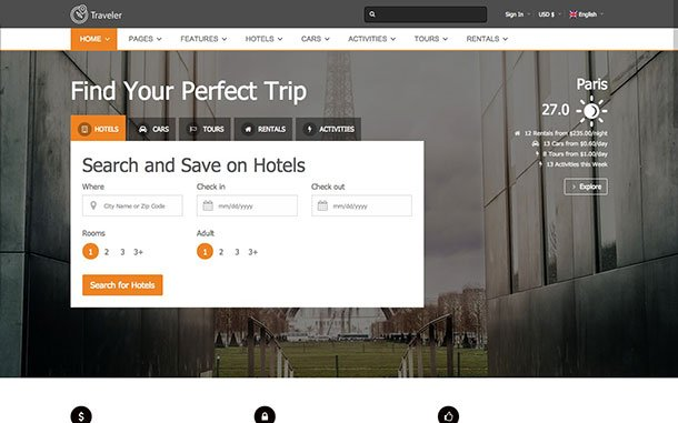 Temi-Wordpress-traveler-theme
