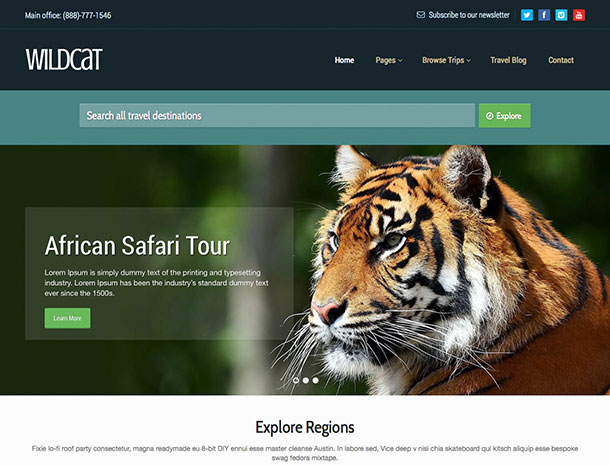 Temi-Wordpress-wildcat