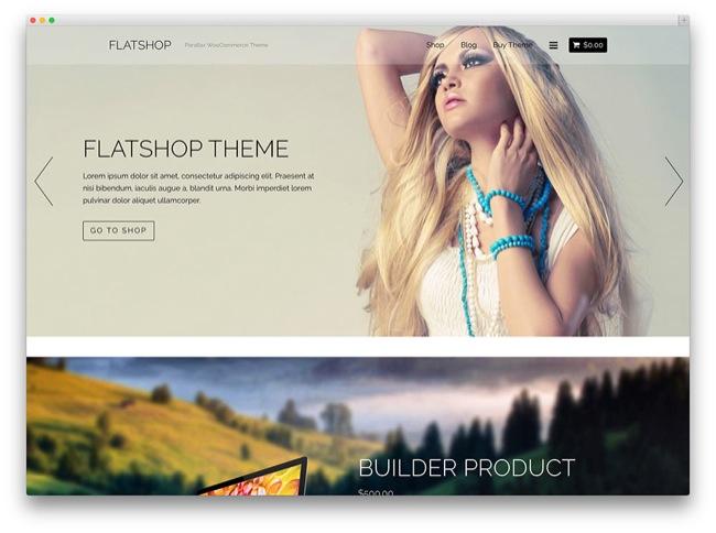 flatshop temi e-commerce wordpress