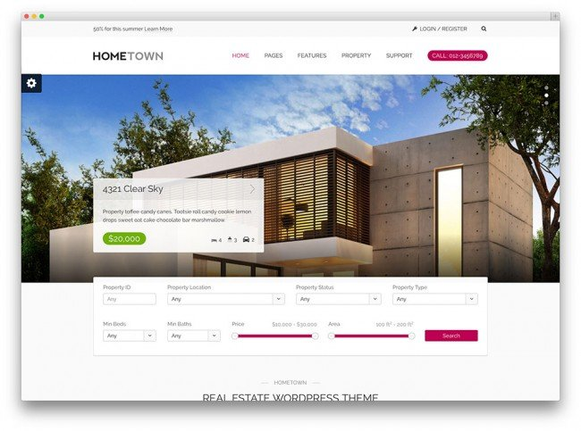 hometown-minimal-tema-immobiliare-wordpress