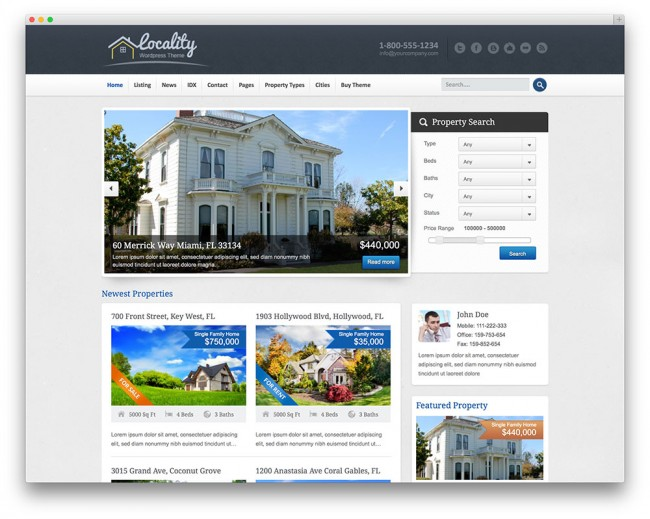 locality-tema-immobiliare-wordpress
