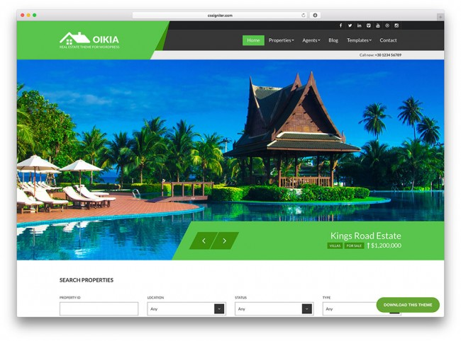 oikia-flat-design-tema-immobiliare-wordpress