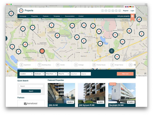 properta-directory-tema-immobiliare-wordpress
