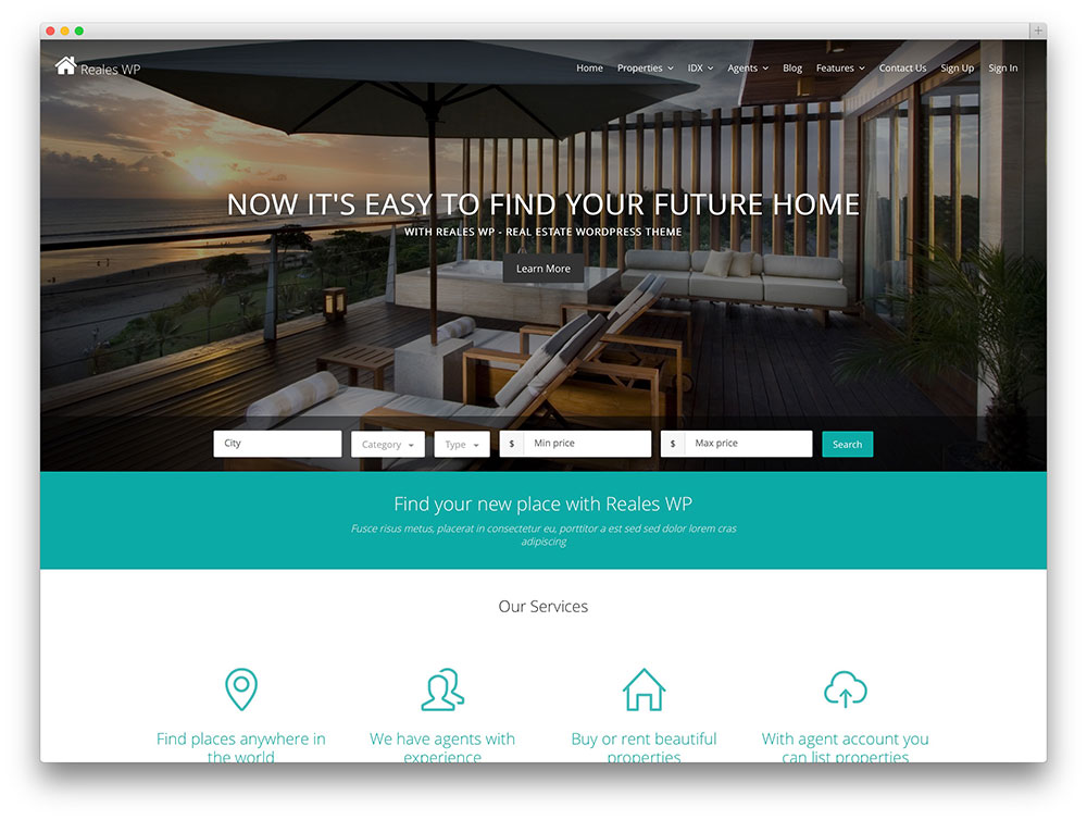 reales-wp-tema-immobiliare-wordpress