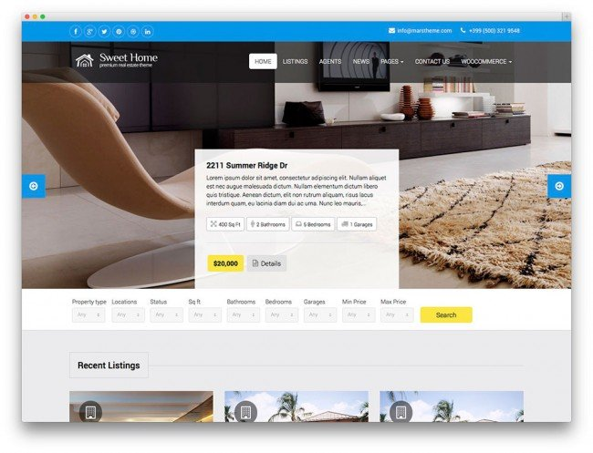 sweethome-tema-immobiliare-wordpress