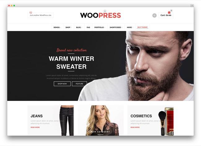 woopress tema e-commerce wordpress