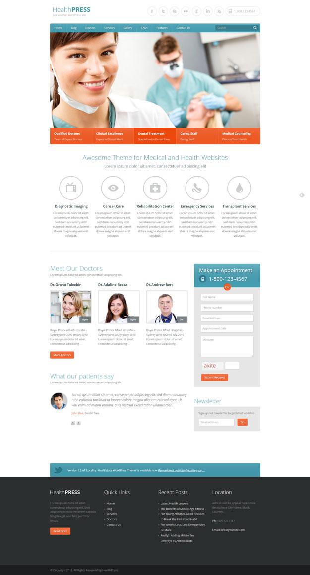 HealthPress-temi-wordpress-medici-sanita-cliniche