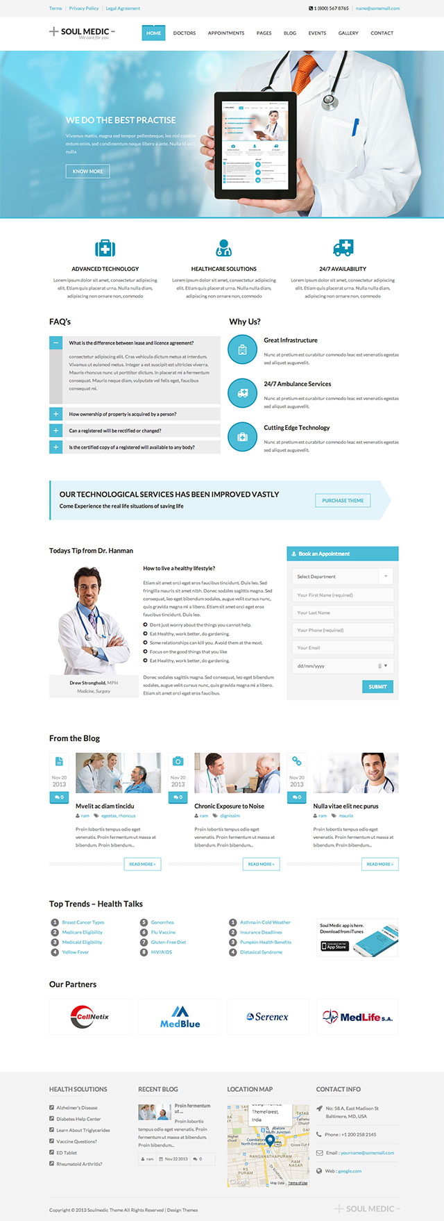 SoulMedic-tema-wordpress