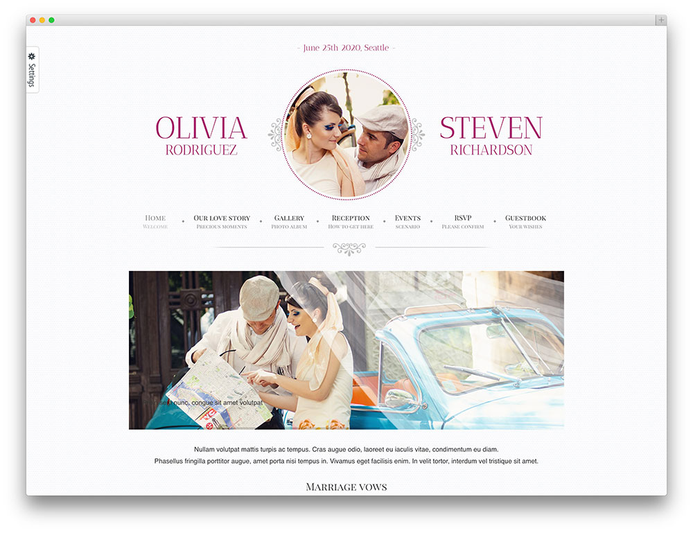 game-over--Template-Wordpress-Wedding-Planner