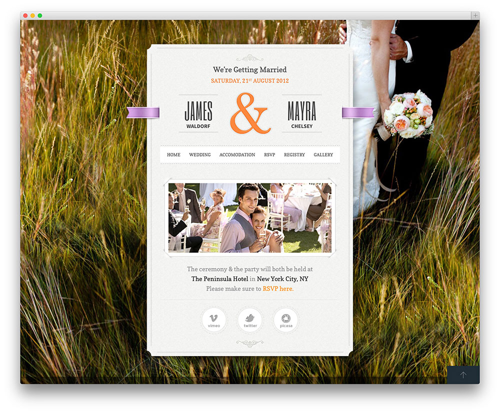 just-married-Template-Wordpress-Wedding-Planner