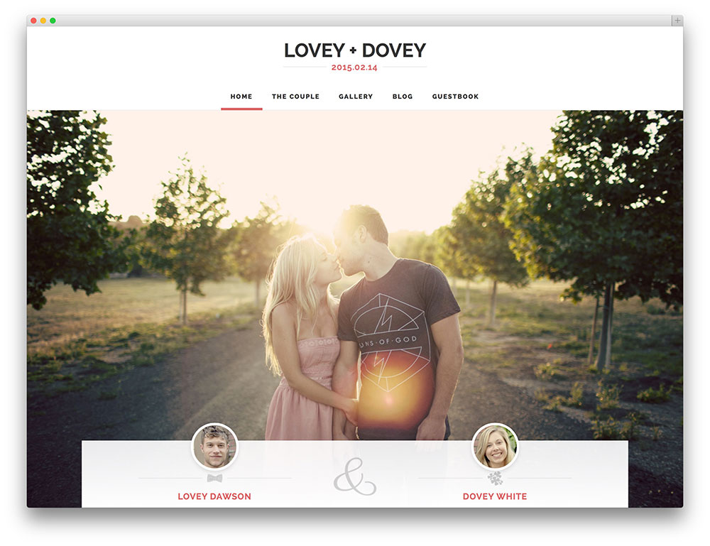 lovey-dovey-Template-Wordpress-Wedding-Planner