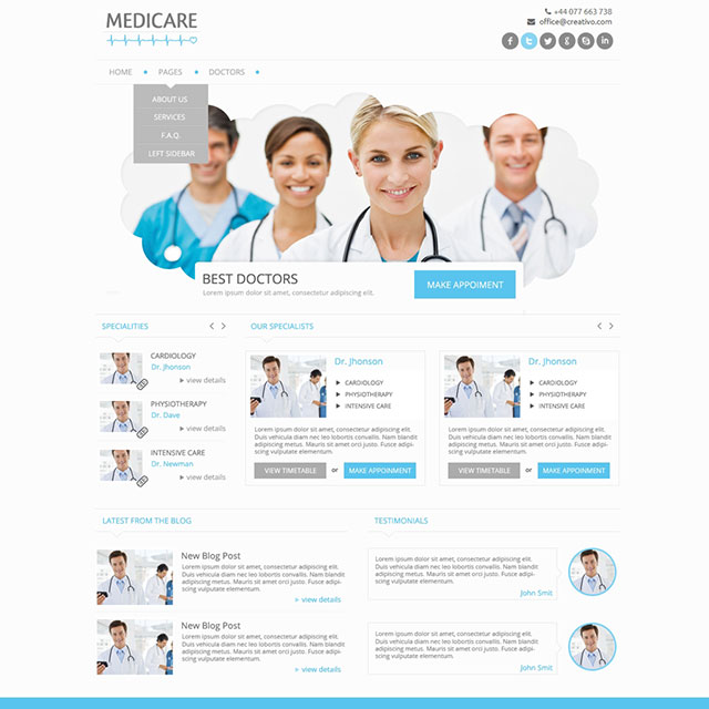 medicare-tema-wordpress