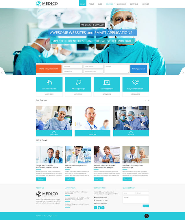 medico-tema-wordpress