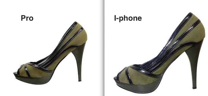 Foto pro vs Iphone