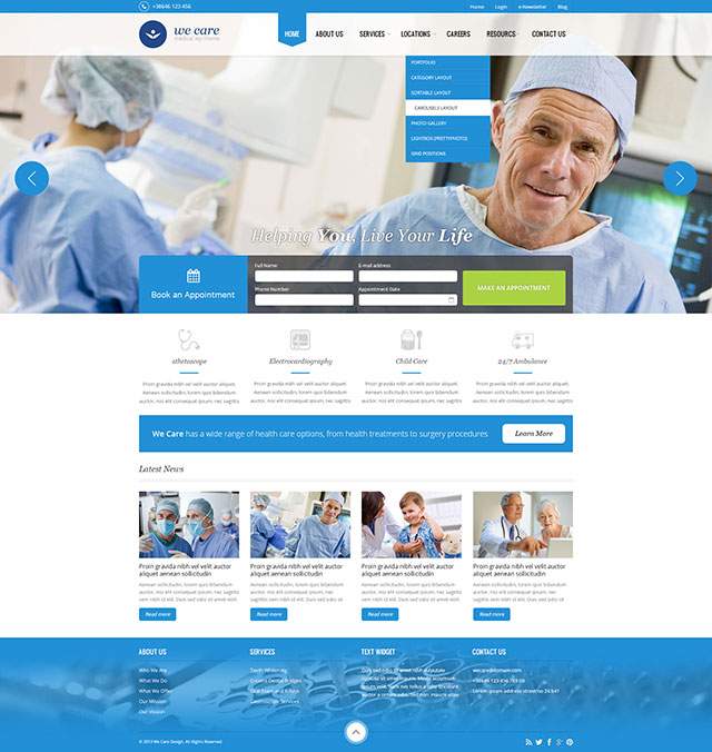 we-care-tema-wordpress