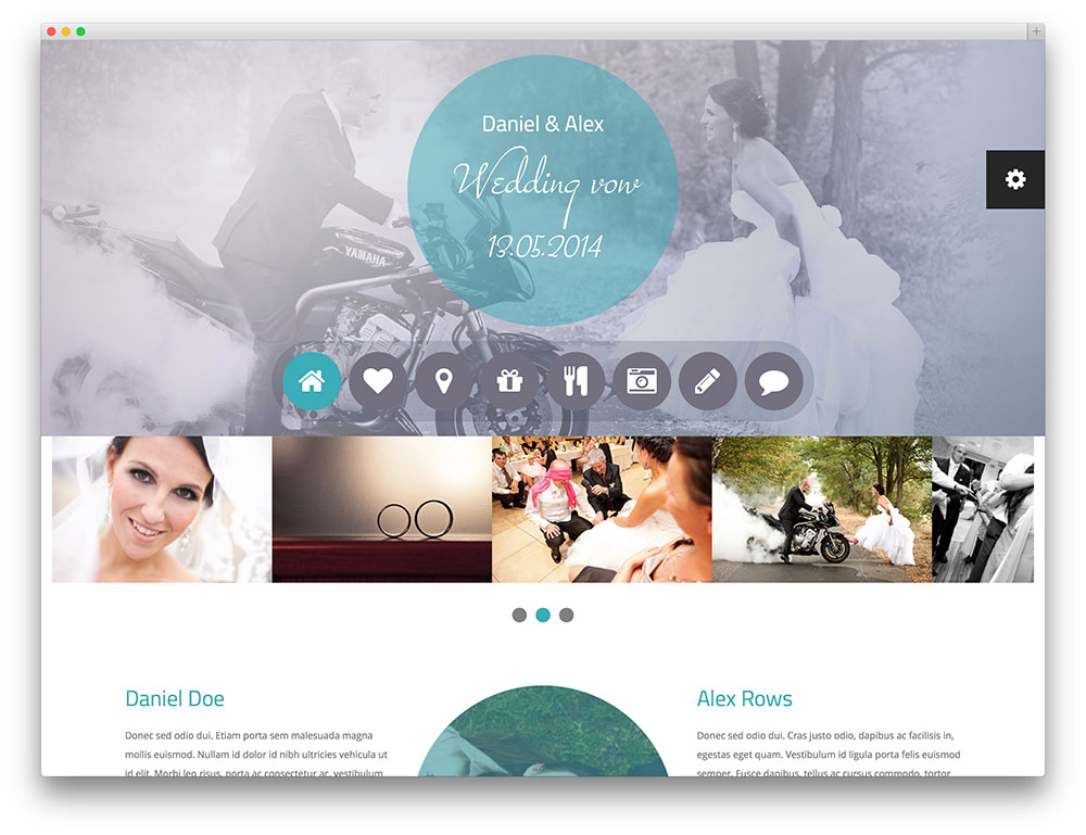 wedding-vow-Template-Wordpress-Wedding-Planner
