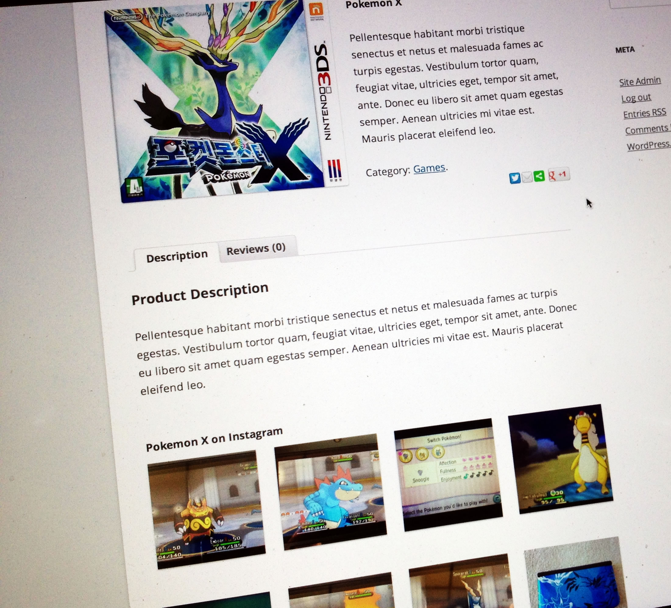 e-commerce-instagram prodotti