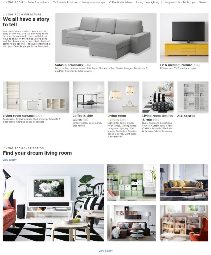 ikea_categorie-menu-ecommerce