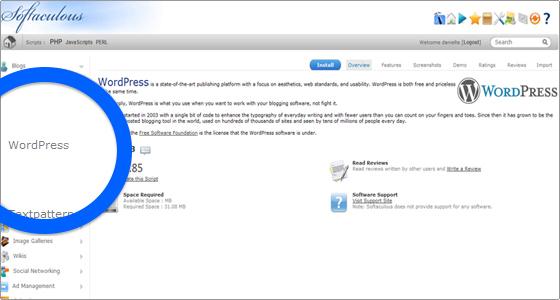 cliccare-applicazione-wordpress