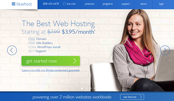 hosting-Bluehost
