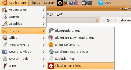 installare-filezilla-su-linux-step1