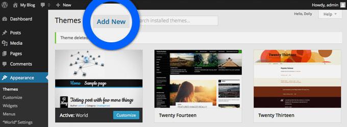 aggiungere-tema-wordpress