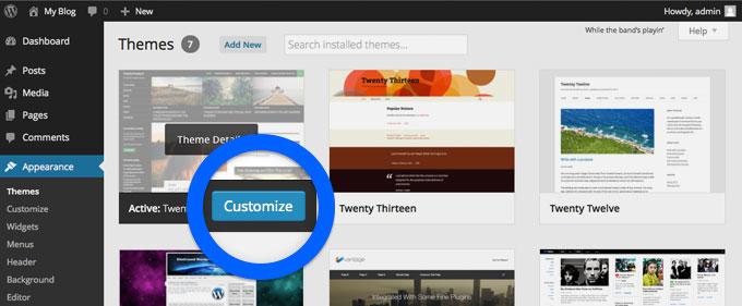 aspetto-personalizza-wordpress