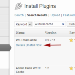 Come usare W3 Total Cache plugin Wordpress
