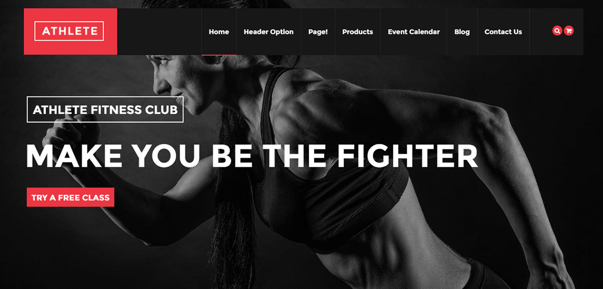 Athlete Tema Wordpress