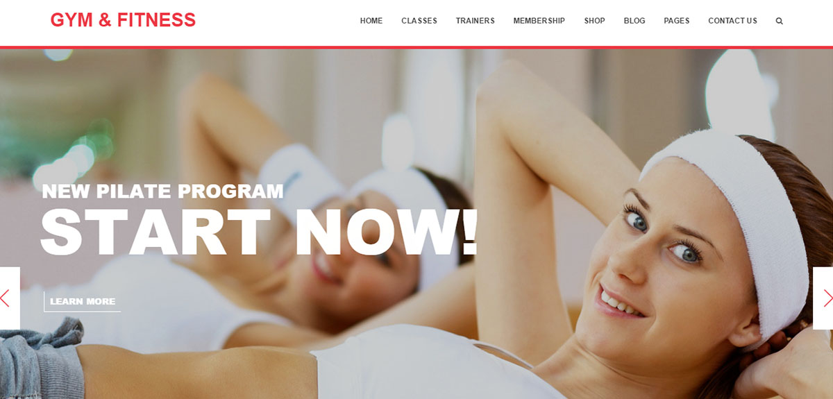 Gym-And-Fitness Tema Wordpress Palestra