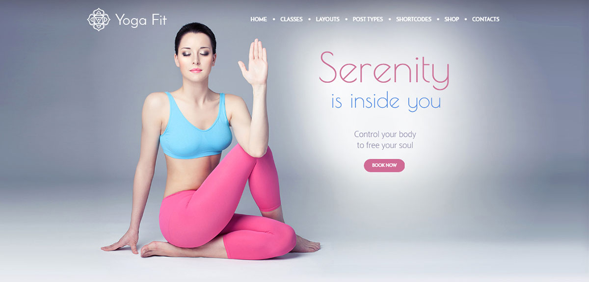 Yoga-Fit Tema Wordpress