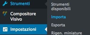 strumenti rss feed wordpress