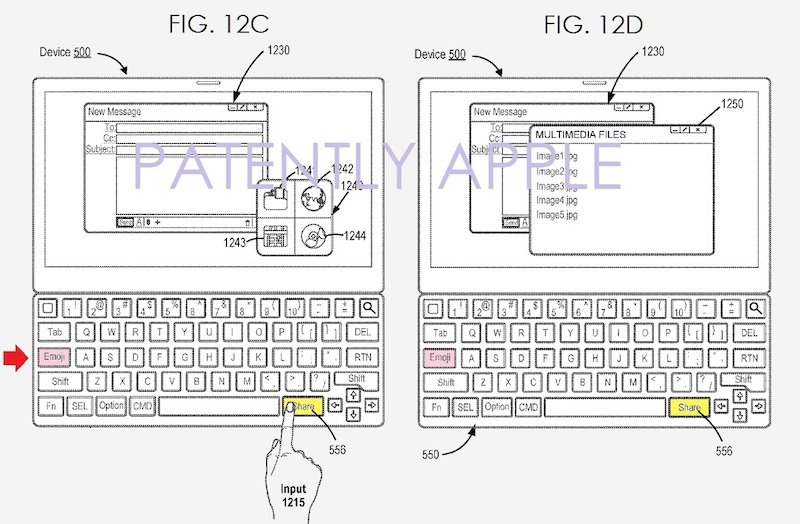 Tastiera Apple Emoji