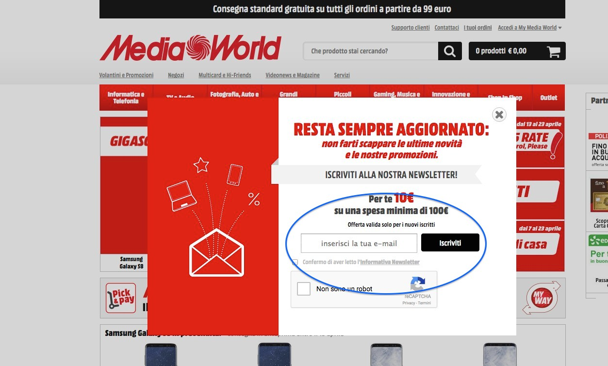 mediaworld mailing list