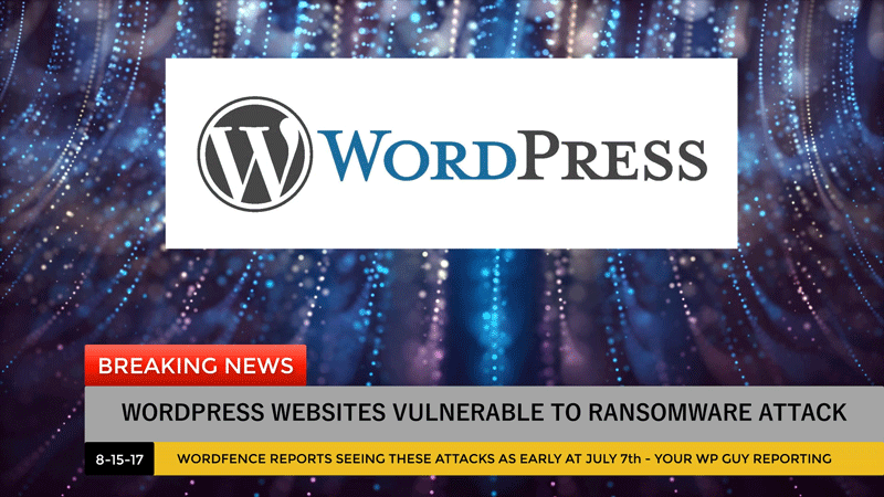 wordpress ransomware