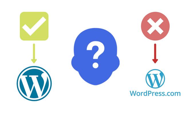 Non usare Wordpress.com