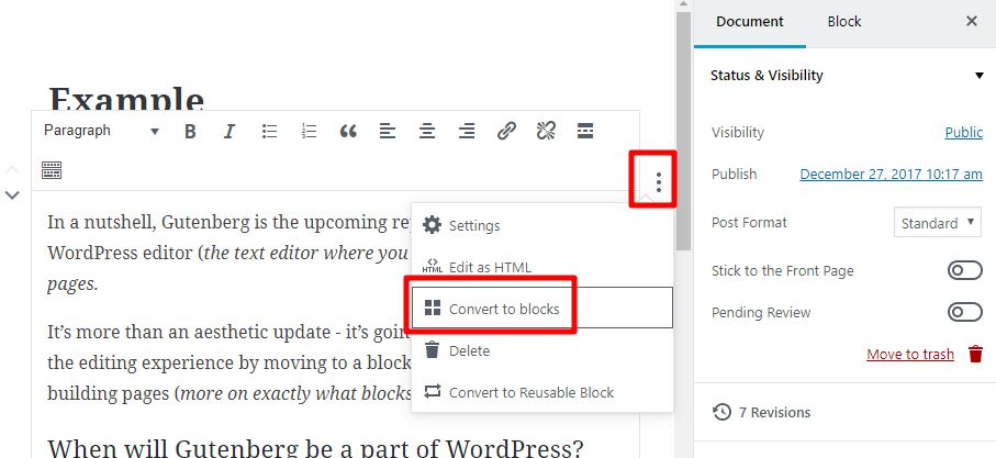 wordpress-gutenberg-converti-blocchi