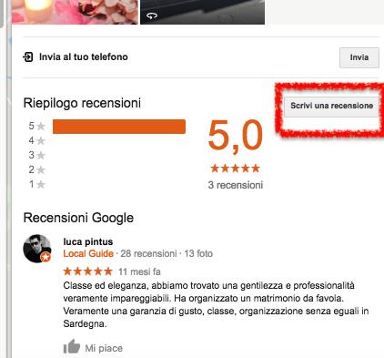 scrivi-una-recensione-google